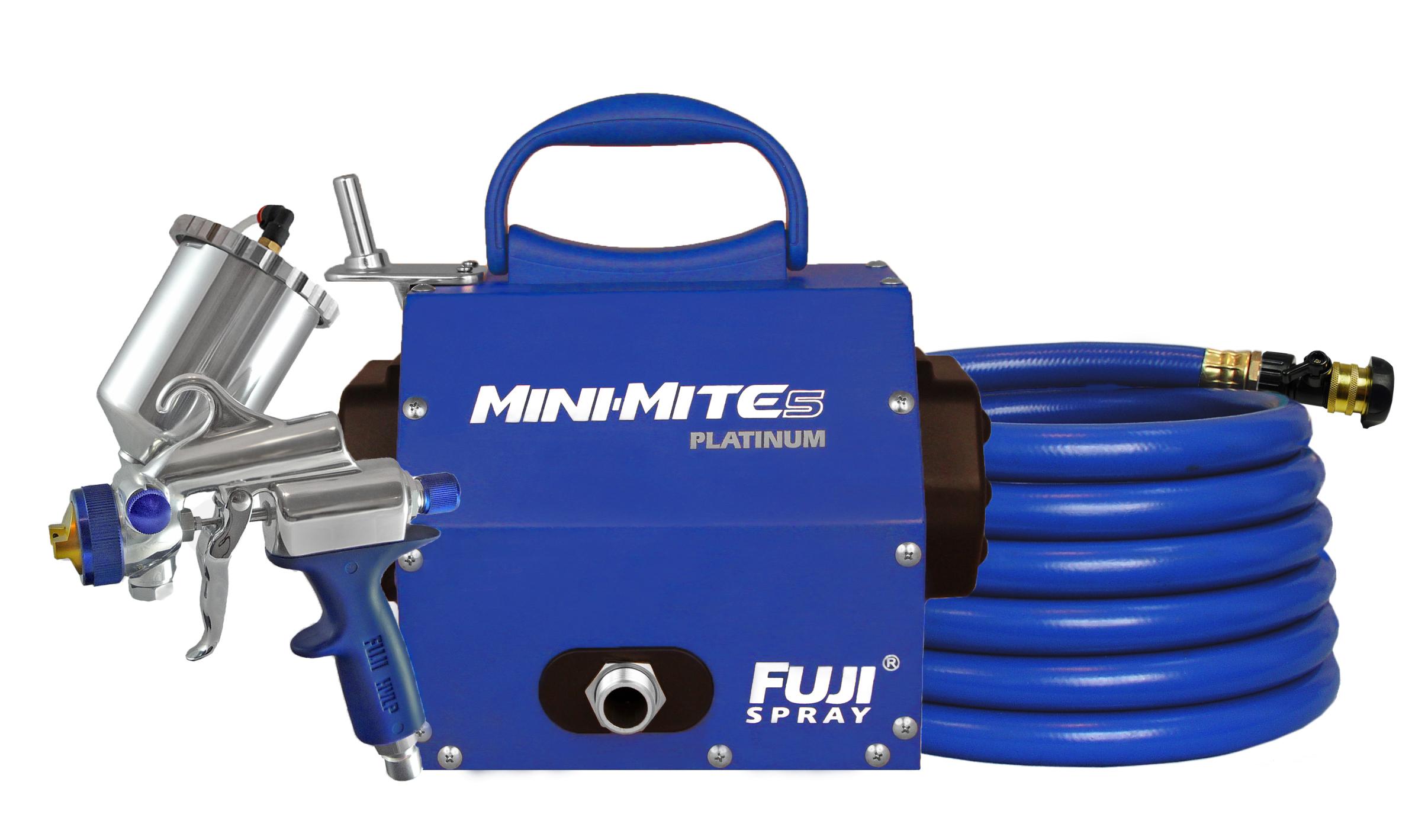 Fuji Spray Mini-Mite 5 Platinum-GXPC   COGENT COATINGS Bathtub ...